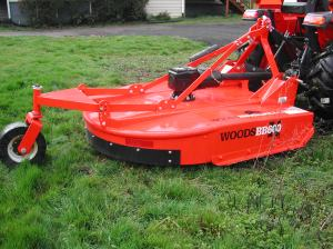 The Woods Brushbull rotory cutter