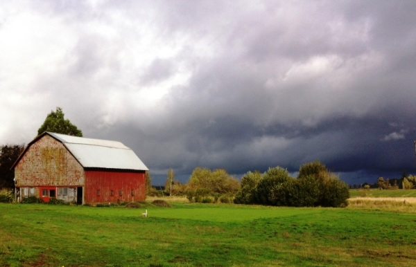 The rain is coming, photo by Beth R.